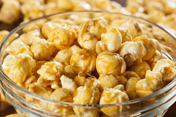 Homemade Fresh Popped Caramel PopCorn