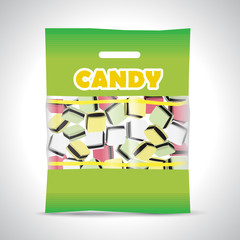 candy licorice bag