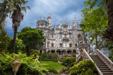 Quinta da Regaleira in Sintra village, Lisbon, Portugal
