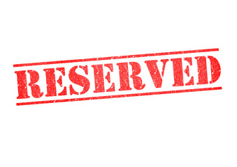 RESERVED Stamp