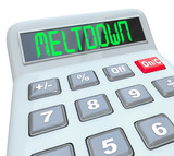 Meltdown - Financial Budget Problems on Calculator Problem