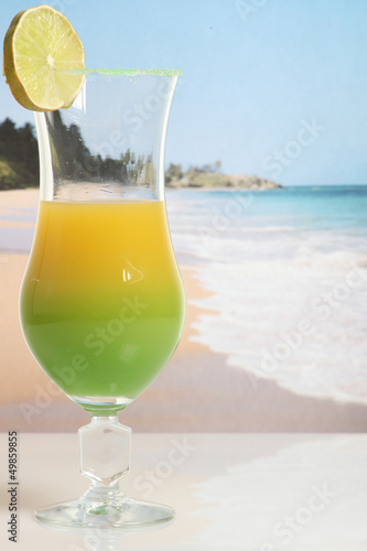 beach cocktail