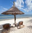 plage, île Maurice