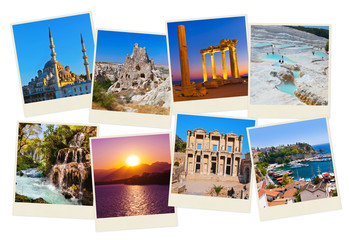 Stack of Turkey travel images