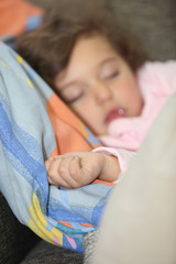 Little girl sleeping