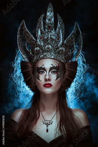 Fototapeten,könig,crown,frau,makeup