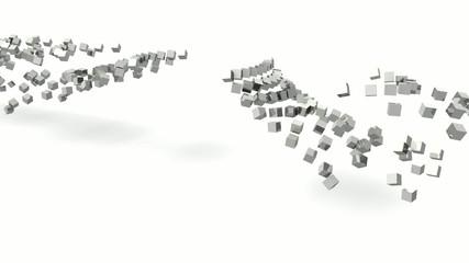 Würfel Cube Masse Zusammenschluss Einheit