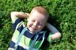 boy in grass