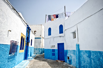 Street of Rabat, Morocco