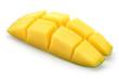 Mango slice cut