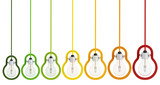 energy saving multicolor light  bulb