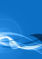 digital blue wave