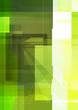 green digital brochure design