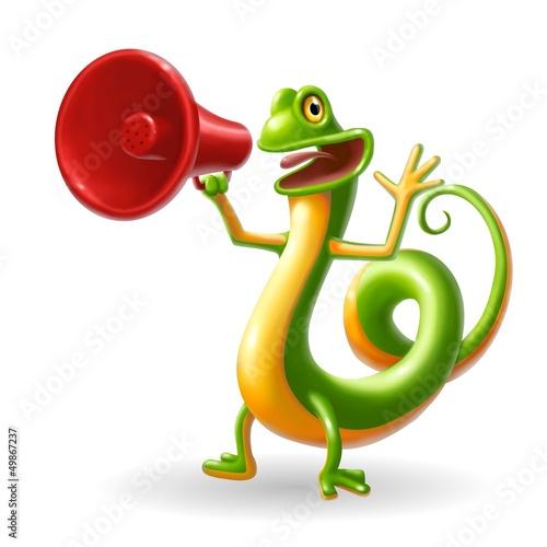 geko megafono