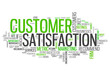 "Word Cloud ""Customer Satisfaction"""