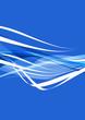 digital blue wave design