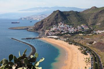 Playa de Las Teresitas at Santa Cruz de Tenerife, Tenerife