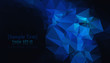 Black blue geometric background vector eps 10