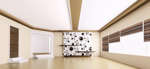 Leer interior panorama 3d
