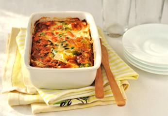 Salmon and Vegetable Bake