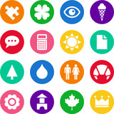 Colorful iconset