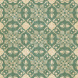 Vintage ornamental seamless pattern with flowers.