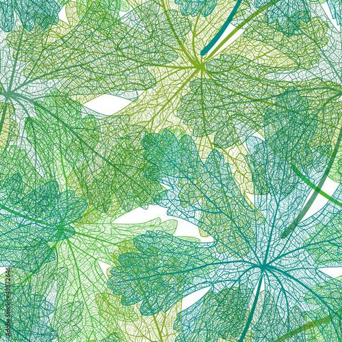 bezszwowe-zielone-liscie-wzor