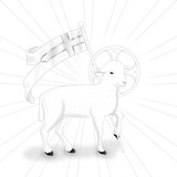 Fototapety Lamb bw