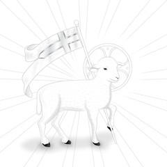 Lamb bw