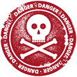 Danger Warning Stamp