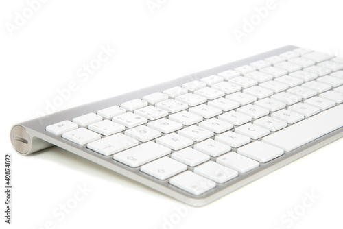 Modern wireless computer keyboard