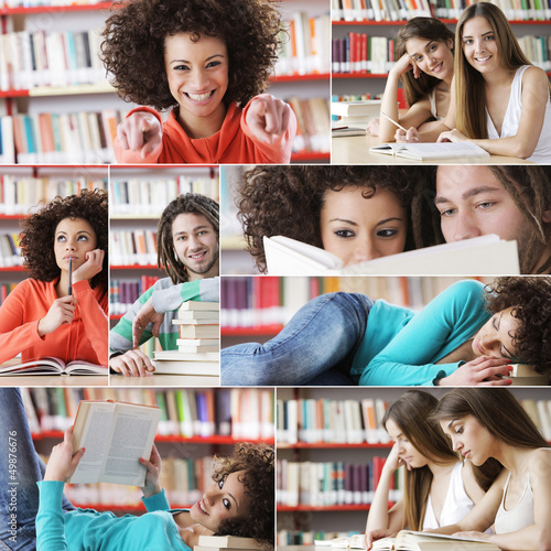 Education: students collage