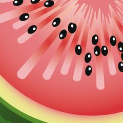 Texture pastèque