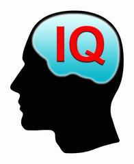 Man with IQ