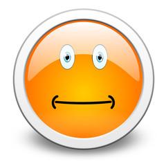 yellow smiley, push-button, vector