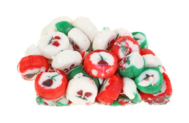 Forgotten Christmas Candy Past On White