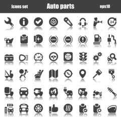 icons auto black reflex