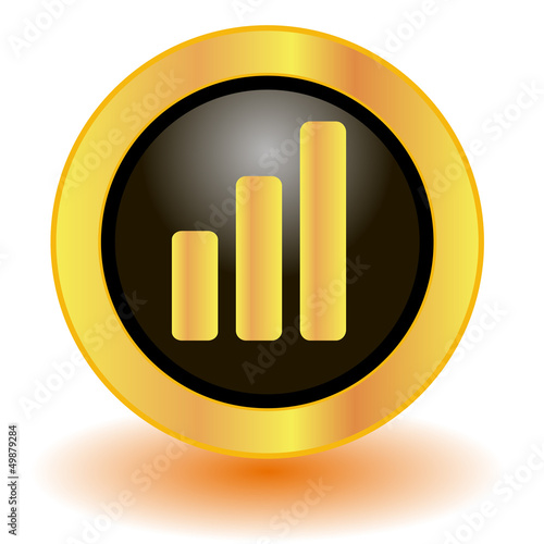 Gold signal button