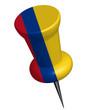 Pinnadel Kolumbien
