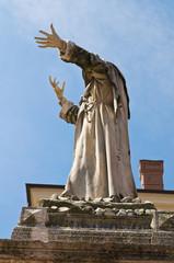 Girolamo Savonarola statue. Ferrara. Emilia-Romagna. Italy.