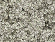 Heap of Dollar Bills. Abstract Money Background.
