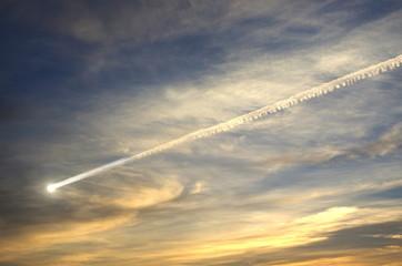 flying meteor