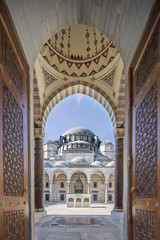 The Suleymaniye Mosque, Turkey