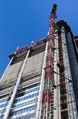 Grattacielo in costruzione