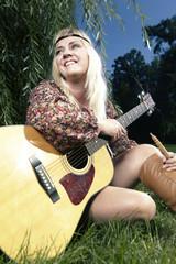 Meditation with guitar