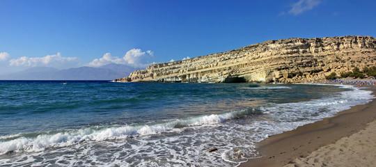 Meer und Stand Landschaft