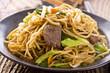 Chinesische Nudeln mit Rindfleisch