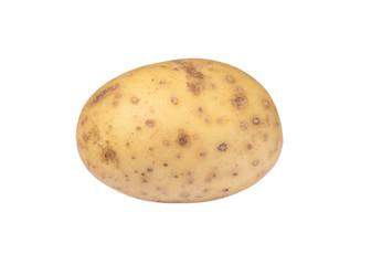 Isolated potato