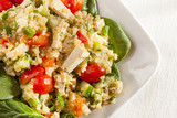 Organic Vegan Quinoa with vegetables
