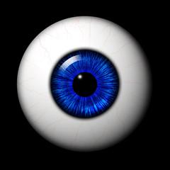 Auge Blau